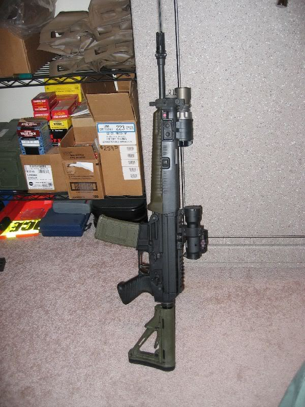 Sig 556 w/ Surefire M500 series light